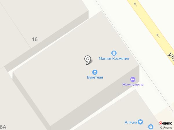 Зенит на карте Анапы
