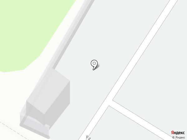 Автостоянка на карте Красногорска