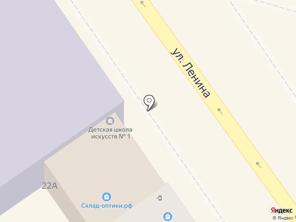 Летти на карте Анапы