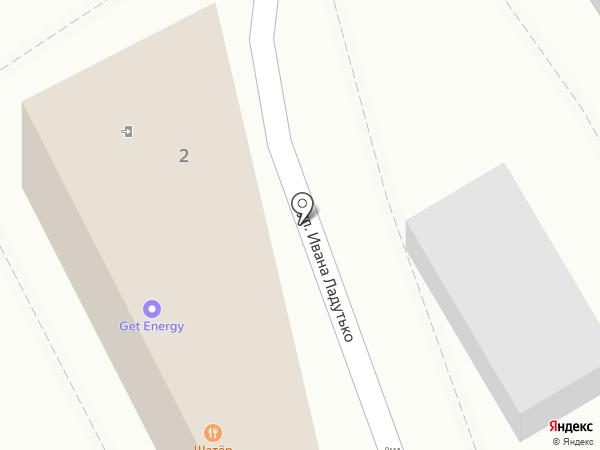 Шатер на карте Анапы