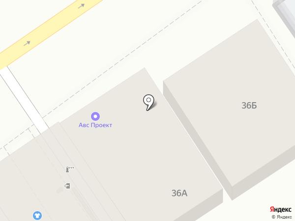 АВС-Проект на карте Анапы