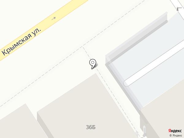 Верная мебель на карте Анапы