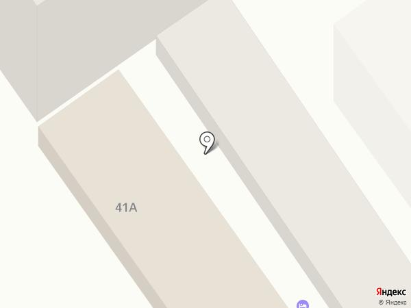 Анапская на карте Анапы