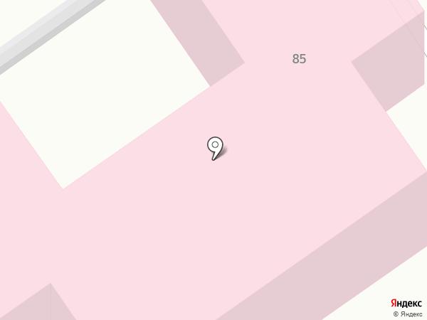 Городская поликлиника на карте Анапы