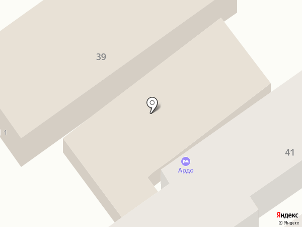 Ардо на карте Анапы