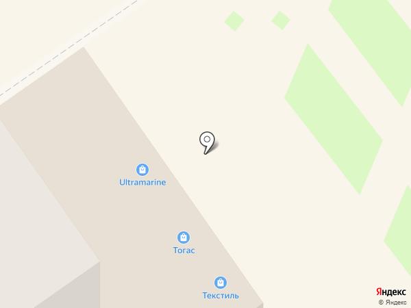 Золотая линия на карте Анапы