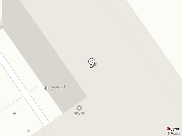 Крепость на карте Анапы