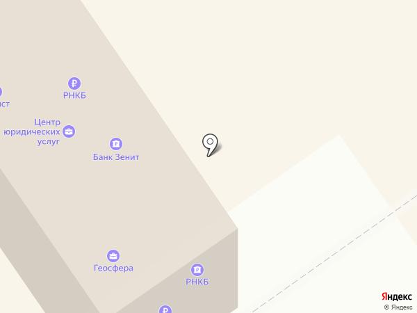 Крайинвестбанк, ПАО на карте Анапы
