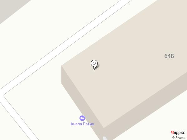 ИНТЕРВЕНТ на карте Анапы