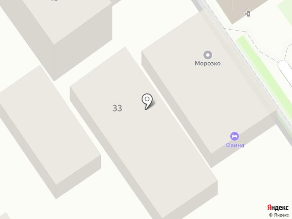 Ремонтная компания на карте Анапы
