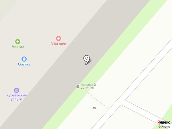 Радуга на карте Красногорска