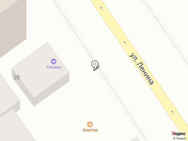 Экватор на карте Анапы