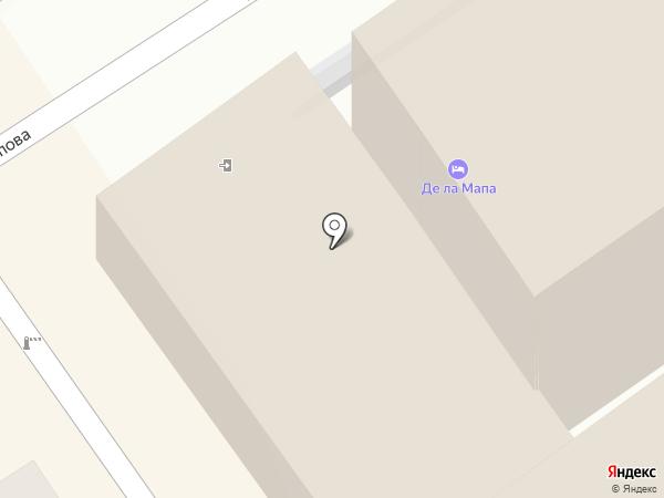 Де ла Мапа на карте Анапы