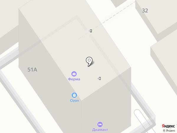 Major Express на карте Анапы