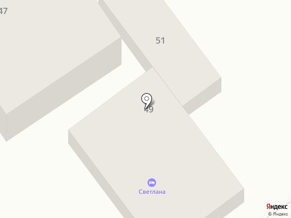Нателла на карте Анапы