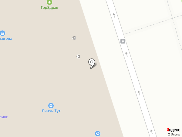 In street на карте Красногорска