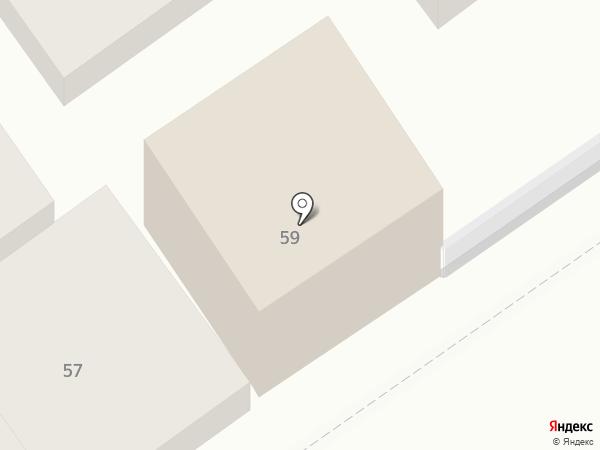 Банк Возрождение, ПАО на карте Анапы