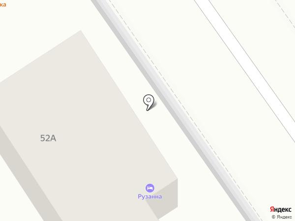 Рузанна на карте Анапы
