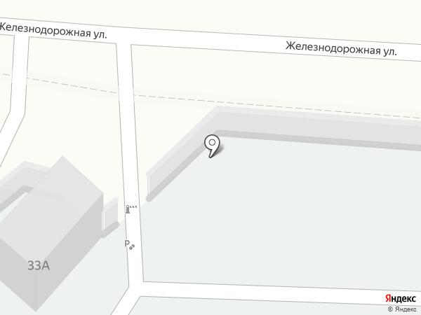 У Берёз, ЗАО на карте Красногорска