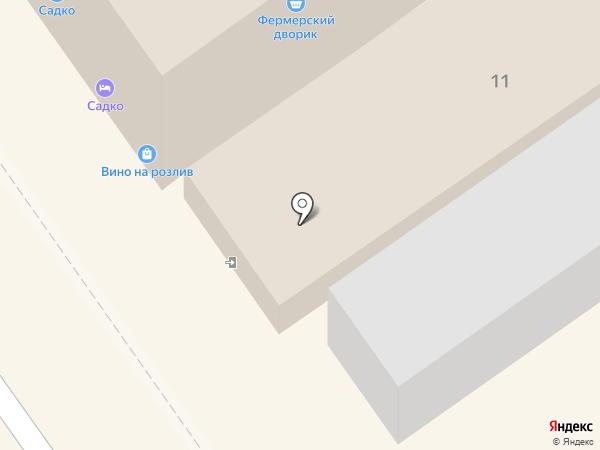 Родина на карте Анапы