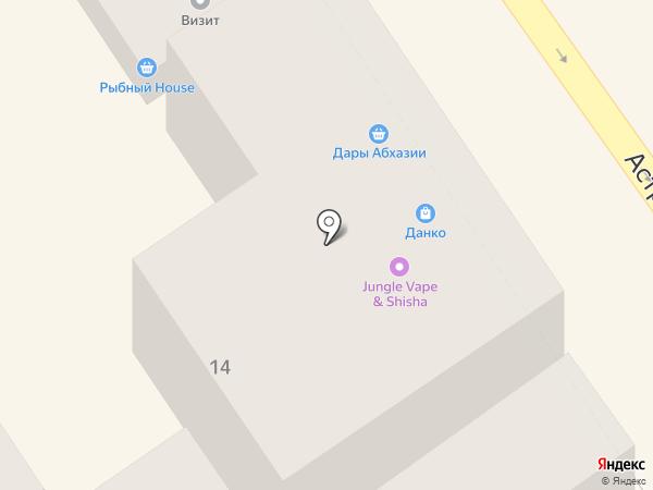 Dolce Baby на карте Анапы
