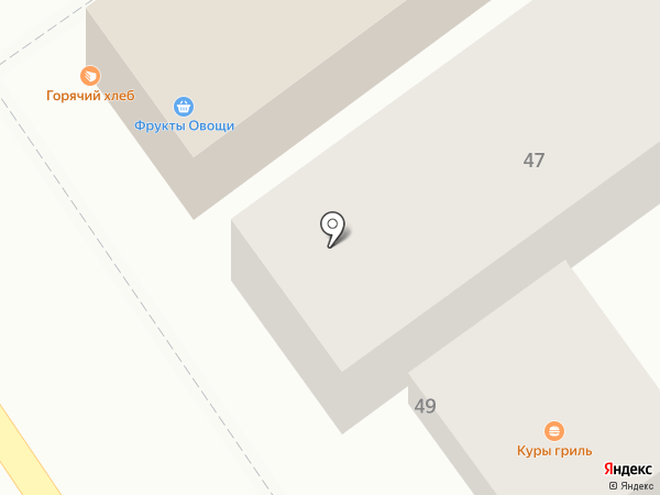 Марета на карте Анапы