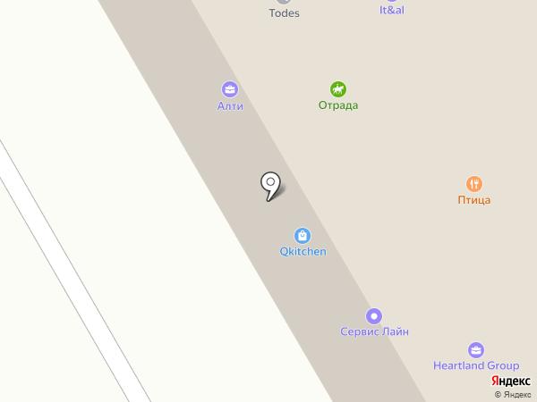 Отрада Недвижимость на карте Отрадного