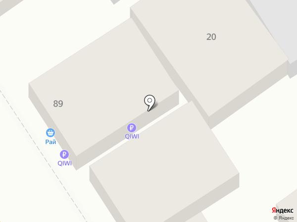 Алена на карте Анапы