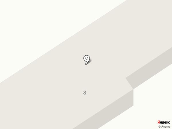 Ореховая роща на карте Анапы