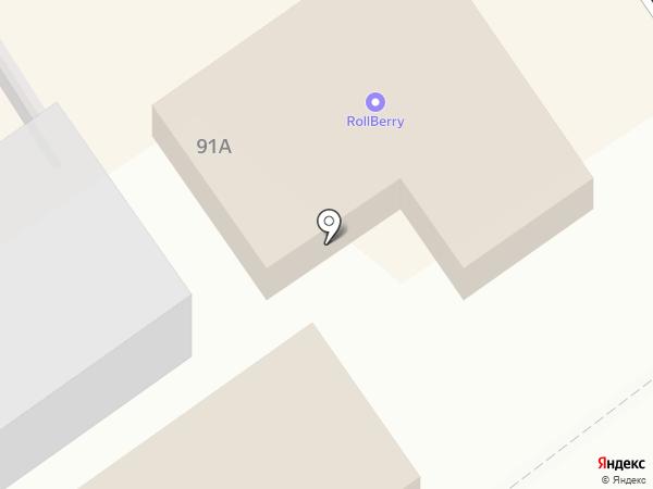 Гастштет на карте Анапы