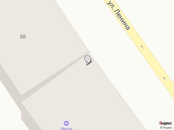 Магазин свежего мяса на карте Анапы