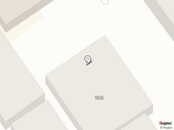 Эгида на карте Анапы