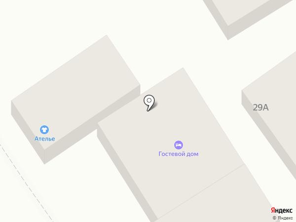 Отдых в Анапе на карте Анапы