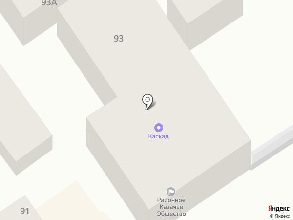 Казачье общество на карте Анапы