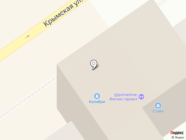 Стайл на карте Анапы