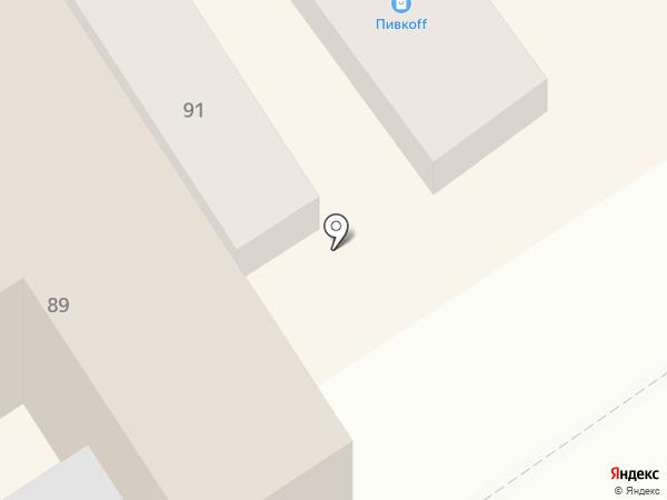 Виктория на карте Анапы
