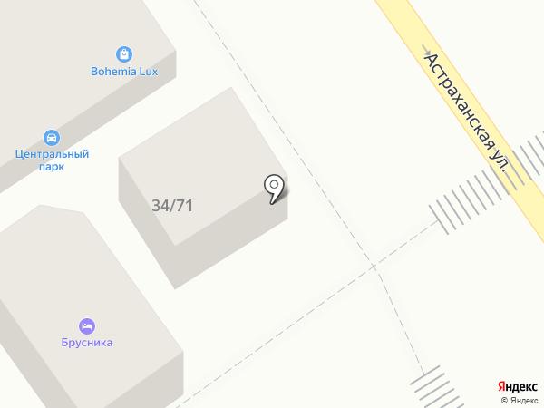 Фруктовая корзина на карте Анапы