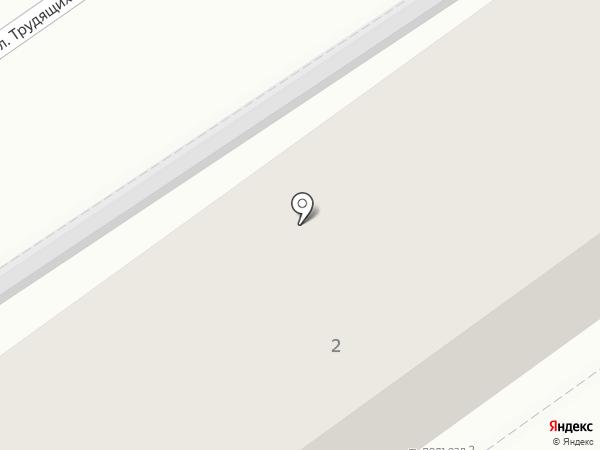 Магазин № 5 на карте Анапы