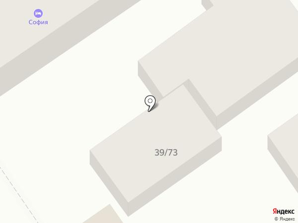 Марка на карте Анапы