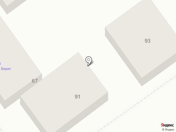 Домашний доктор на карте Анапы