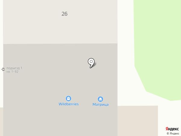 Бригантина на карте Красногорска