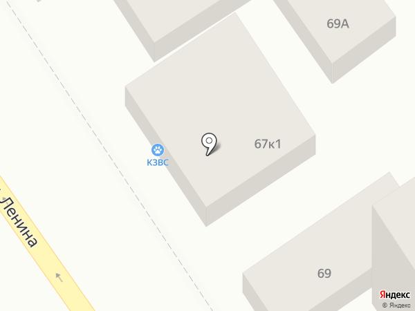 Магадан на карте Анапы