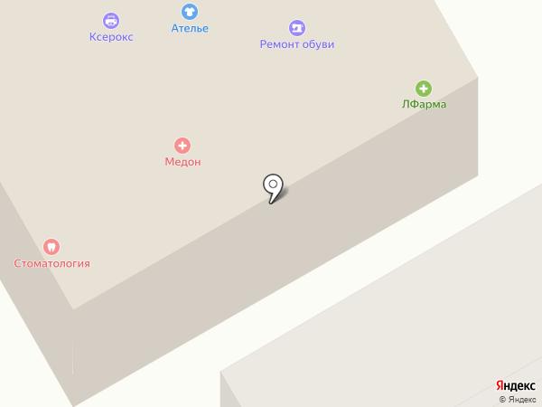 Медон на карте Красногорска