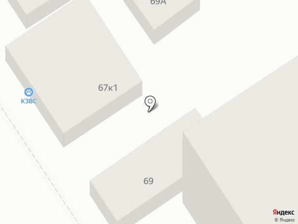 Иголочка на карте Анапы