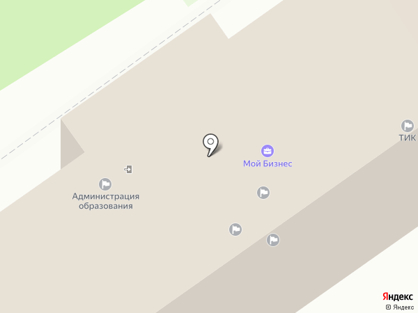 Управление по взаимодействию со средствами массовой информации на карте Анапы