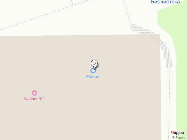 Русич на карте Красногорска