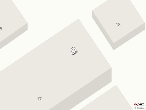 Продовольственный магазин на Комсомольском на карте Анапы