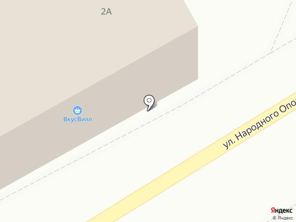 МИКРОМАРКЕТ на карте Красногорска