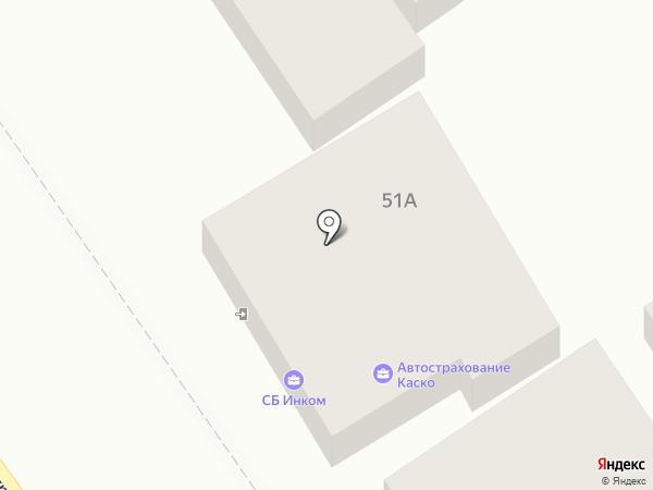ИНКОМ на карте Анапы