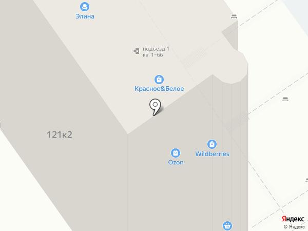 Бельведер на карте Анапы